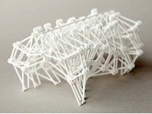 3D printed Dutch Walking Machine - Theo Jansen